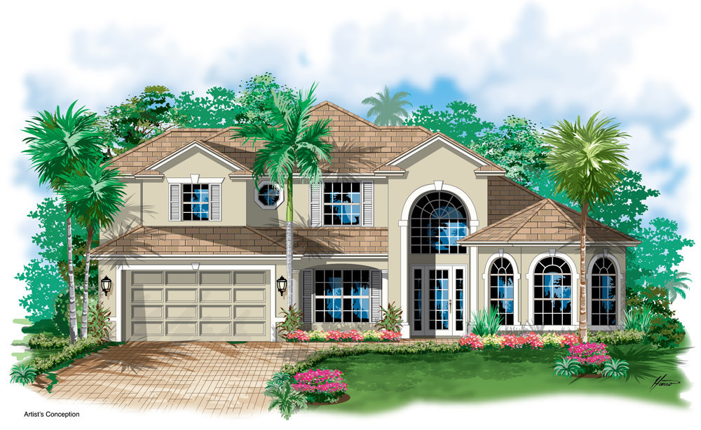 The Inverness Gulfstream Homes